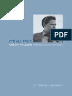 It's All True Orson Welles Pan-American Journey