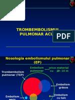 Tromboembolism Pulmonar Acut