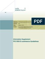 PCI DSS v2 ECommerce Guidelines