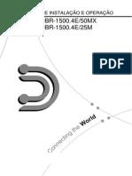 Manual Radio Digitel DBR-1500