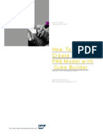 How to Create a PAS Model With Cube Builder for Strategy Management SM7.0