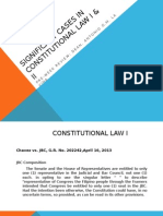 Selected Cases in Constitutional Law i & II Powerpoint Presentation