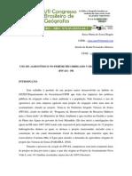 Uso de Agrotóxico No Perímetro Irrigado Várzeas de Sousa
