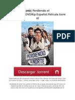 [HD] Perdiendo El Norte.2015.DVDRip.español.pelicula.torrent