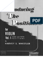 Whistler Volume 1. changing positions