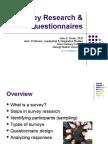 Survey Research Questionnaires3