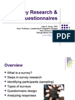 Survey Research Questionnaires3