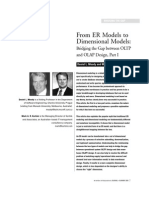 Dimensional Models Intro