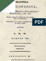1848 - Negulici, Ioan D. (1812-1851 - Vocabularu romanu de tote vorbele strabune.pdf
