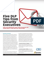 5 DLP Tips From Security Execs