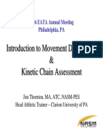 Kinetic Chain Assessment Kinetic Chain Assessment