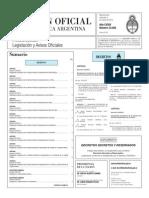 Decreto 319-320-2015 Designacion Conjueces