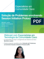 Solucao de Problemas No Session Initiation Protocol (SIP)