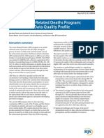 Department of Justice Arrest-Related Deaths