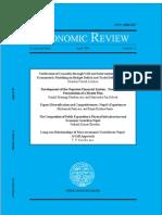 Economic Review (Occasional Paper)--No 21 (April 2009)-NEW