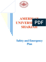 AUS Safety and Emergency Plan