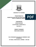 119071824-Kotak-Mahindra-Project-Marketing-Specialization.doc