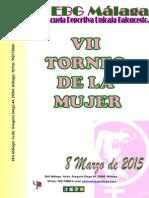 Dossier VII Torneo de La Mujer