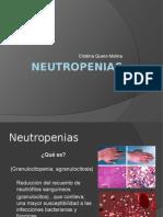 Neutropenias Cristina Quero