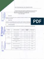 BASES PARA LA PRIMERA CONVOCATORIA PARA CONTRATO ADMINISTRATIVO DE SERVICIOS (CAS) AL CONCURSO PÚBLICO DE MÉRITOS PARA CUBRIR PLAZAS VANCANTES N° 001-2015-MPC