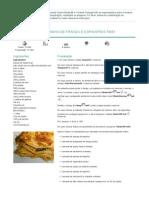 Lasanha de Frango e Espinafres - 2015-02-23