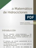 Modelo Matemático de Hidrociclones