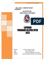 Dokumentasi Program Jamuan Tahun 6 2013