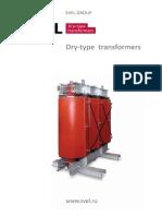 Catalogo de transformadores secos