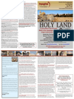 Israel Familiarization Tour for Clergy/Spouse