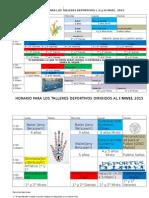 Horario para Talleres 2015.docx
