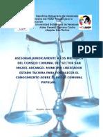 ante proyecto del pnf de estudios juridicos aldea municipalizada cipriano castro