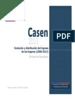 Casen2013 Evolucion Distibucion Ingresos