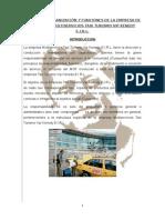 Manual de Organización y Funciones d Ela Empresa de Radio Taxi Multiservicios Taxi Turismo Vip Kenedy e