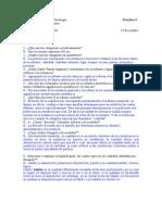 Cuestionario Ontología