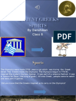 ancient greeks sports