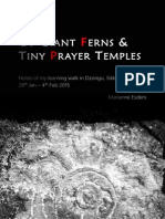 Of Giant Ferns and Tiny Prayer Temples Small
