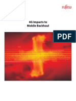 4G Impacts in Mobile Backhaul