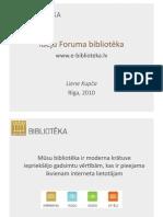 Ideju Foruma bibliotēka