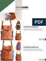 Cartera Hidalgo Catalogo