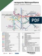 Mapa Da Rede Metro