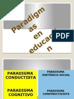 Los Paradigmas de La Educación - Edison