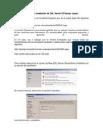 Instalacion SQL Server