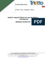 Memorial Descritivo Casa08012015