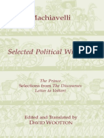 Machiavelli, Niccolò - Selected Political Writings (Hackett, 1994)