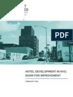 Hotel Development in NYC