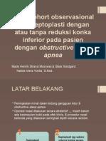 Studi Cohort Observasional Efek Septoplasti Dengan atau Tanpa Konkoplasti