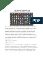 Kliping Macam-macam Software