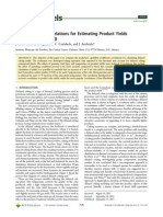 Muñoz et al. Comparison of correlations for estimating product yields from delayed coking