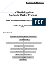 Routes to Market Process