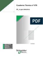 Cuaderno Técnico Nº 078 SF6 Gas Dielectrico